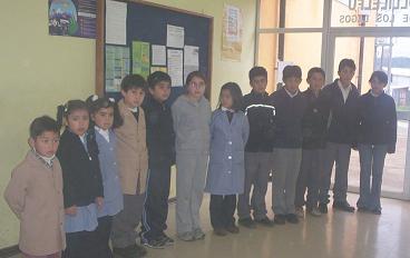 Alumnos y alumnas destacados por su Comportamiento.