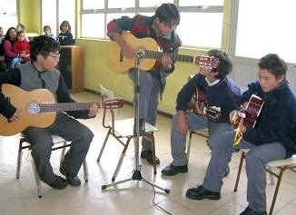 Grupo de guitarras.