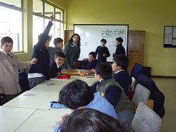 TAP con alumnos de Cuarto Año
