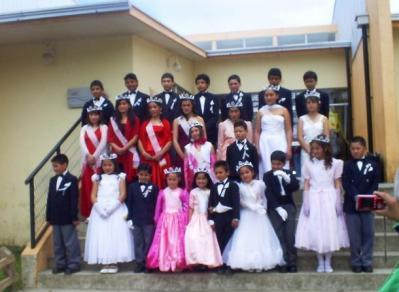 Reina , Princesas y Galanes.