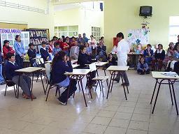 Alumnos del taller de Expresión.