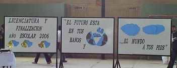 Licenciatura y Acto de Finalización Año Escolar.