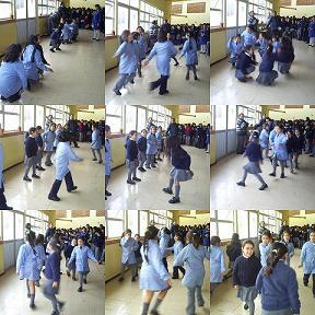 Baile de alumnas.